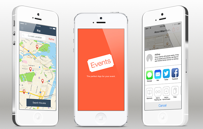 get most out from event apps