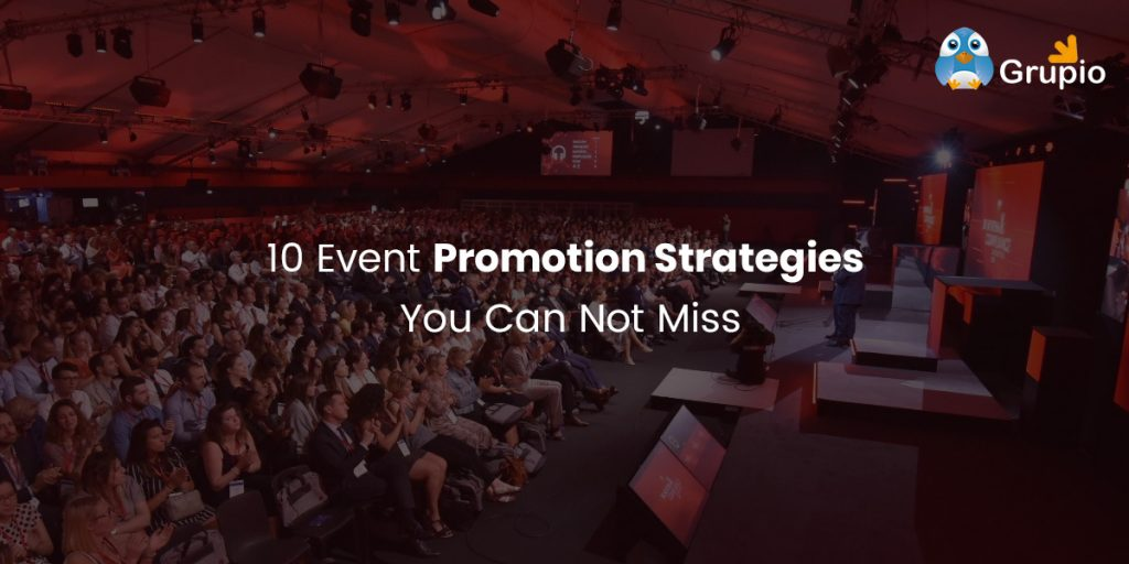 event promotion strategies | Grupio